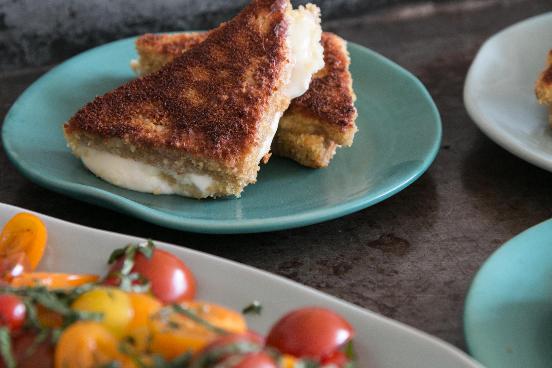 Mozzarella in Carozza, Snack, einfache Rezepte, Alltagsküche
