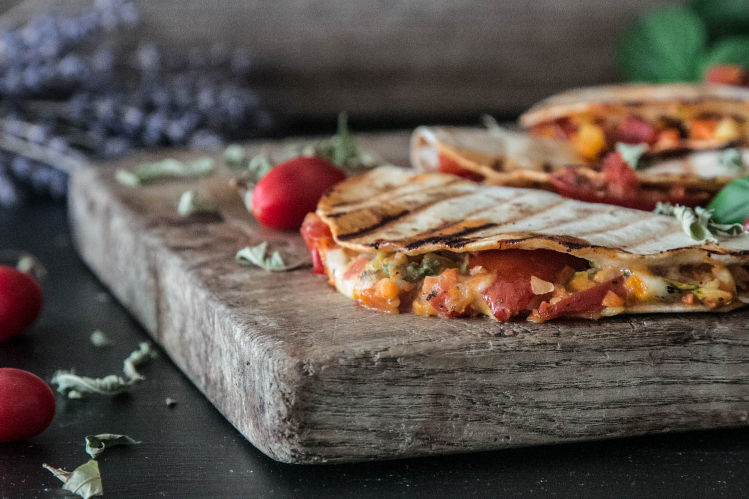 Quesadillas, Pizzadillas, Snacks, TV-Snacks, einfache Rezepte