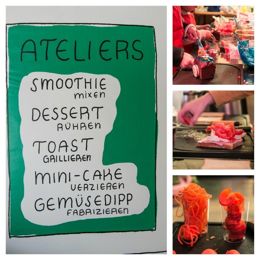 Food Zurich, Engros Markt, Betty Bossi, Betty Bossi Kochwerkstadt