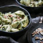 Tortellini mit Pesto