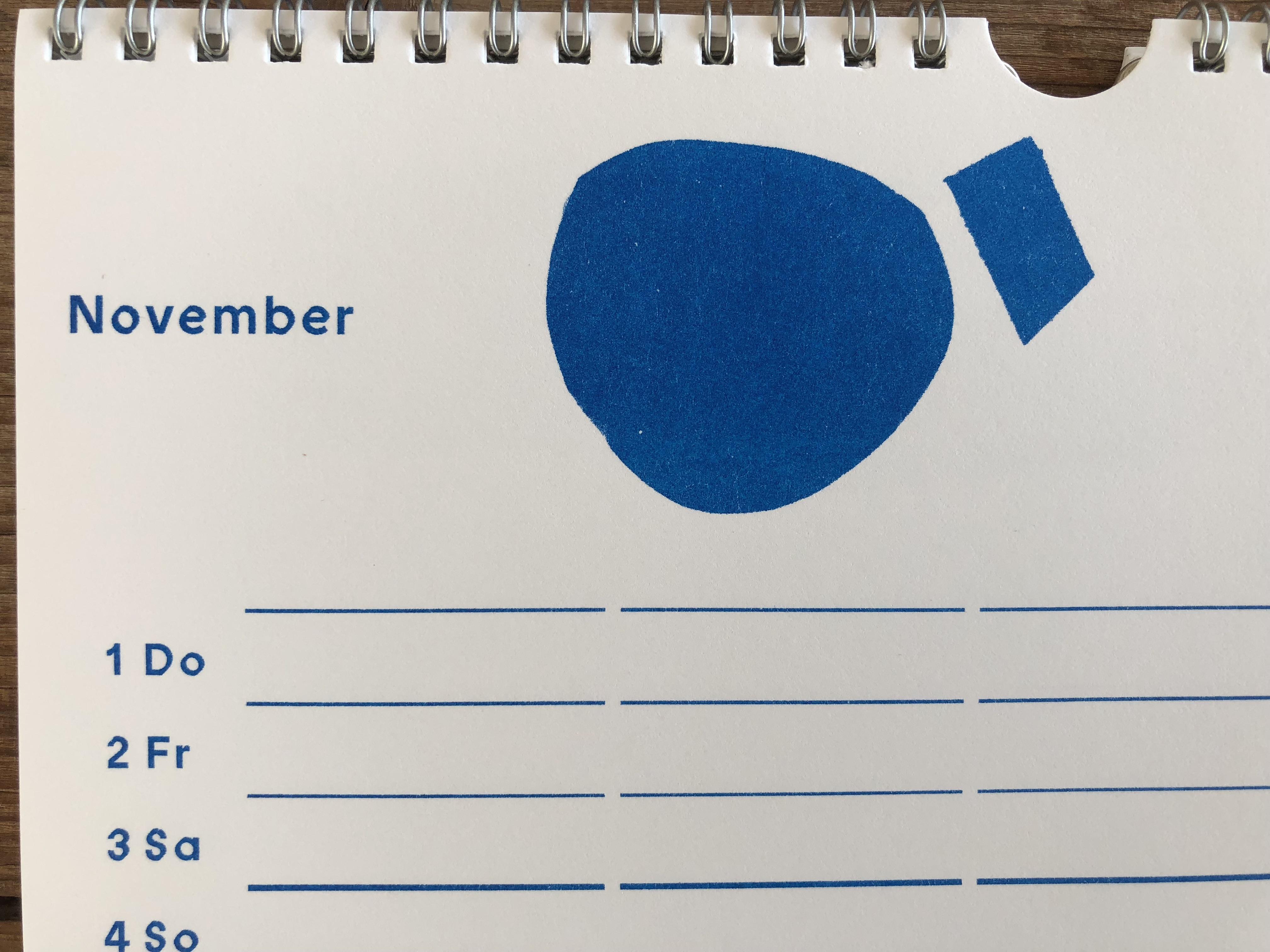 Jahresplaner, Jahreskalender, Agenda, Familienkalender, Familienplaner