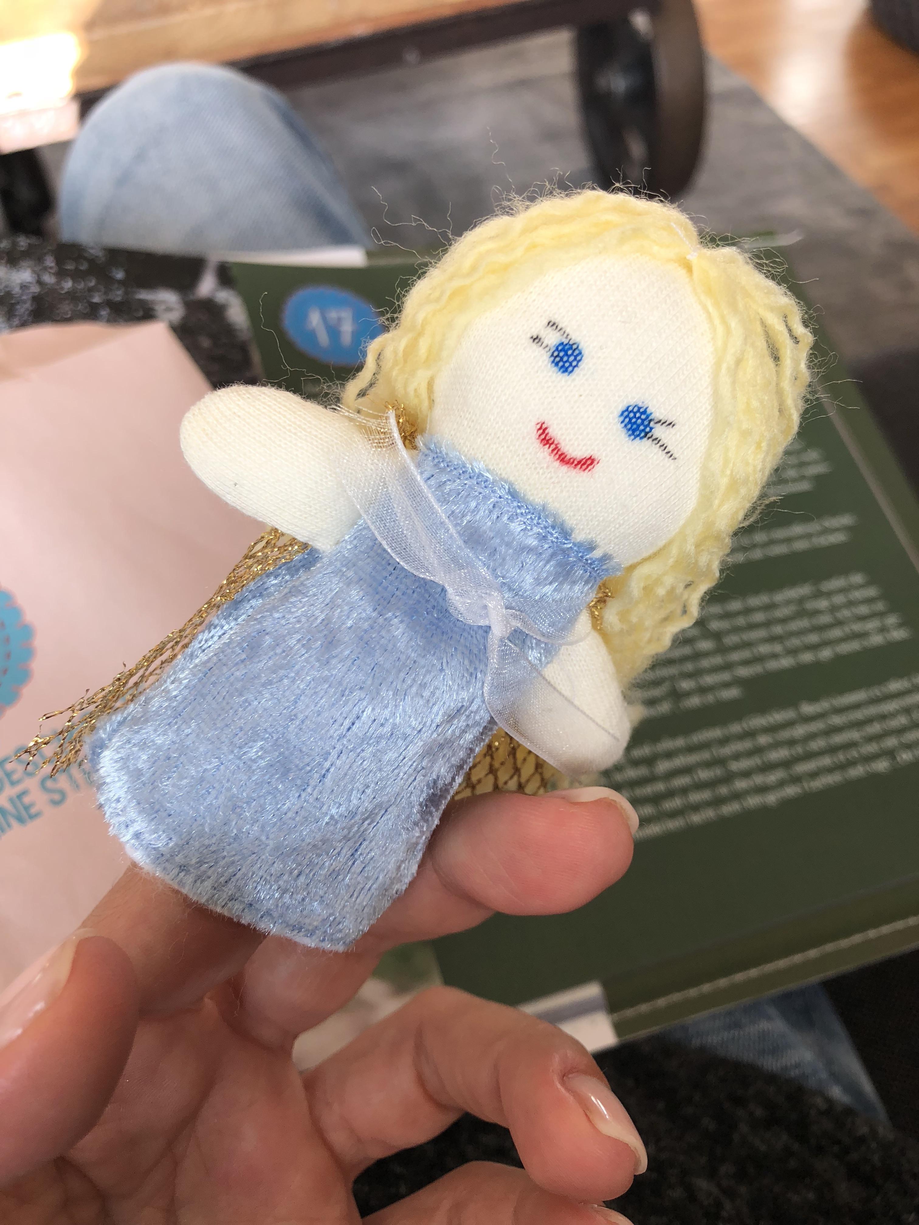 Adventsgeschichte mit Puppen, Adventskalender für Kinder
