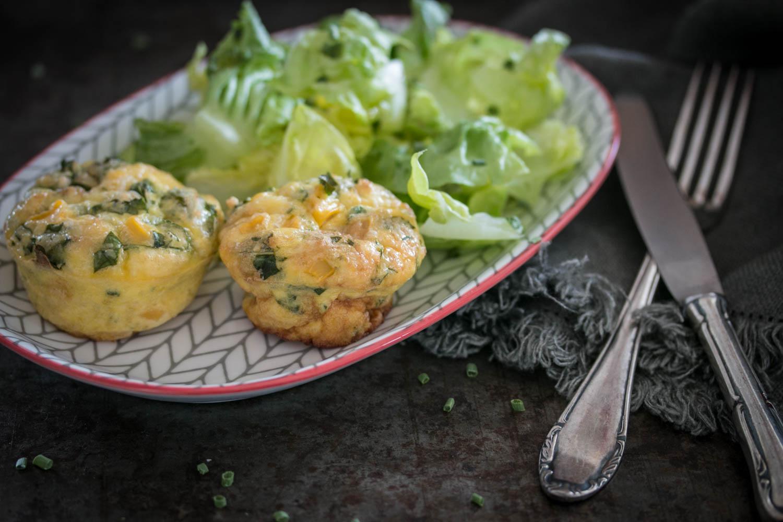 Frittata Muffin, Kindermenü, Alltagsrezepte, vegetarisch