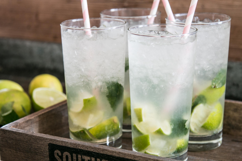 Virgin Mojito Mocktail