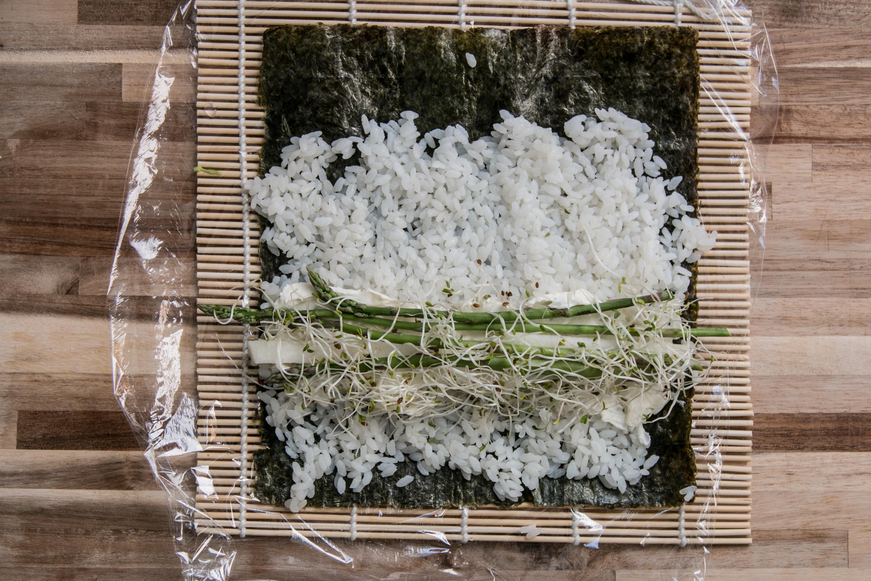 Veggie Sushi selbstgemacht