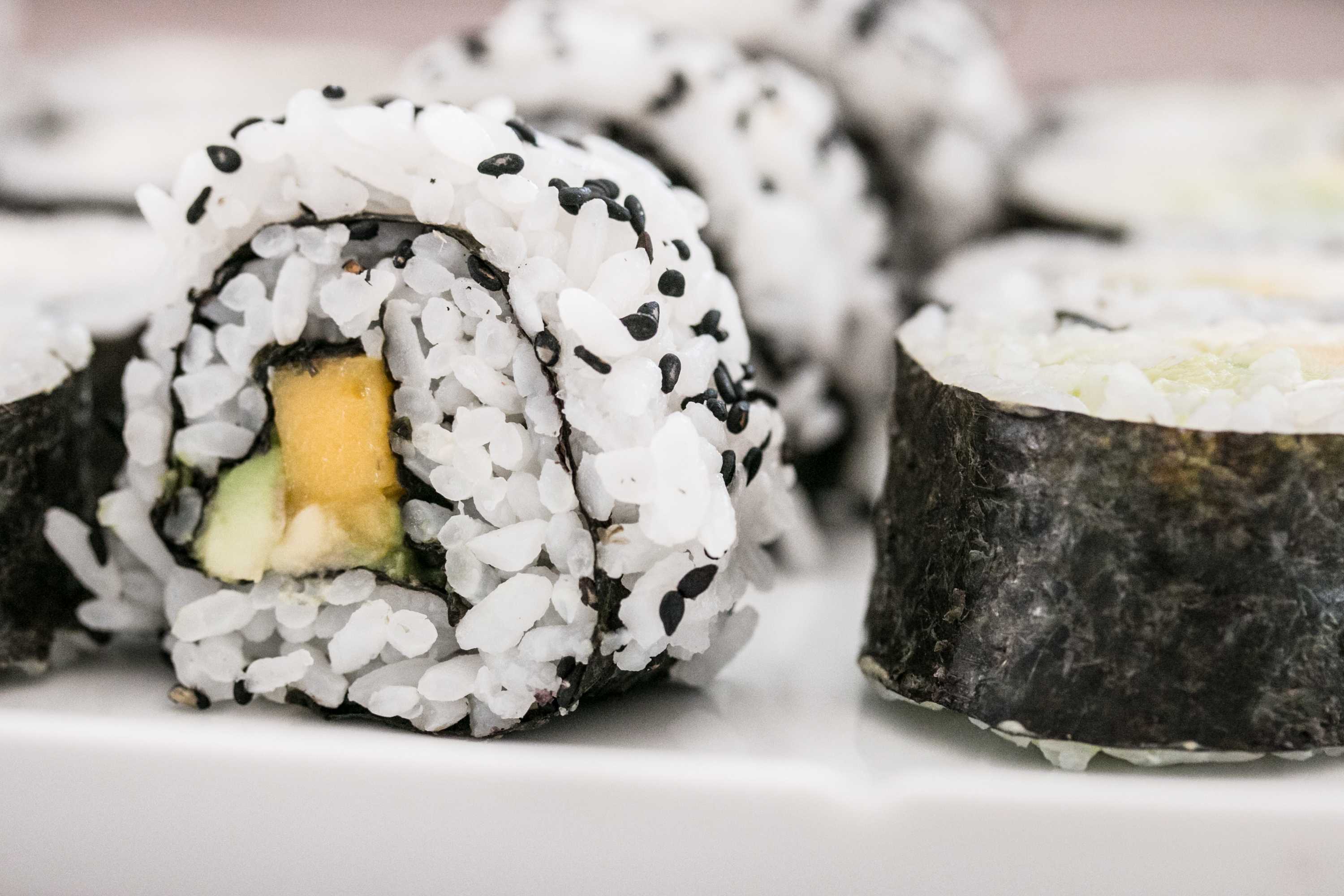 Sushi Inside Out Roll Anleitung