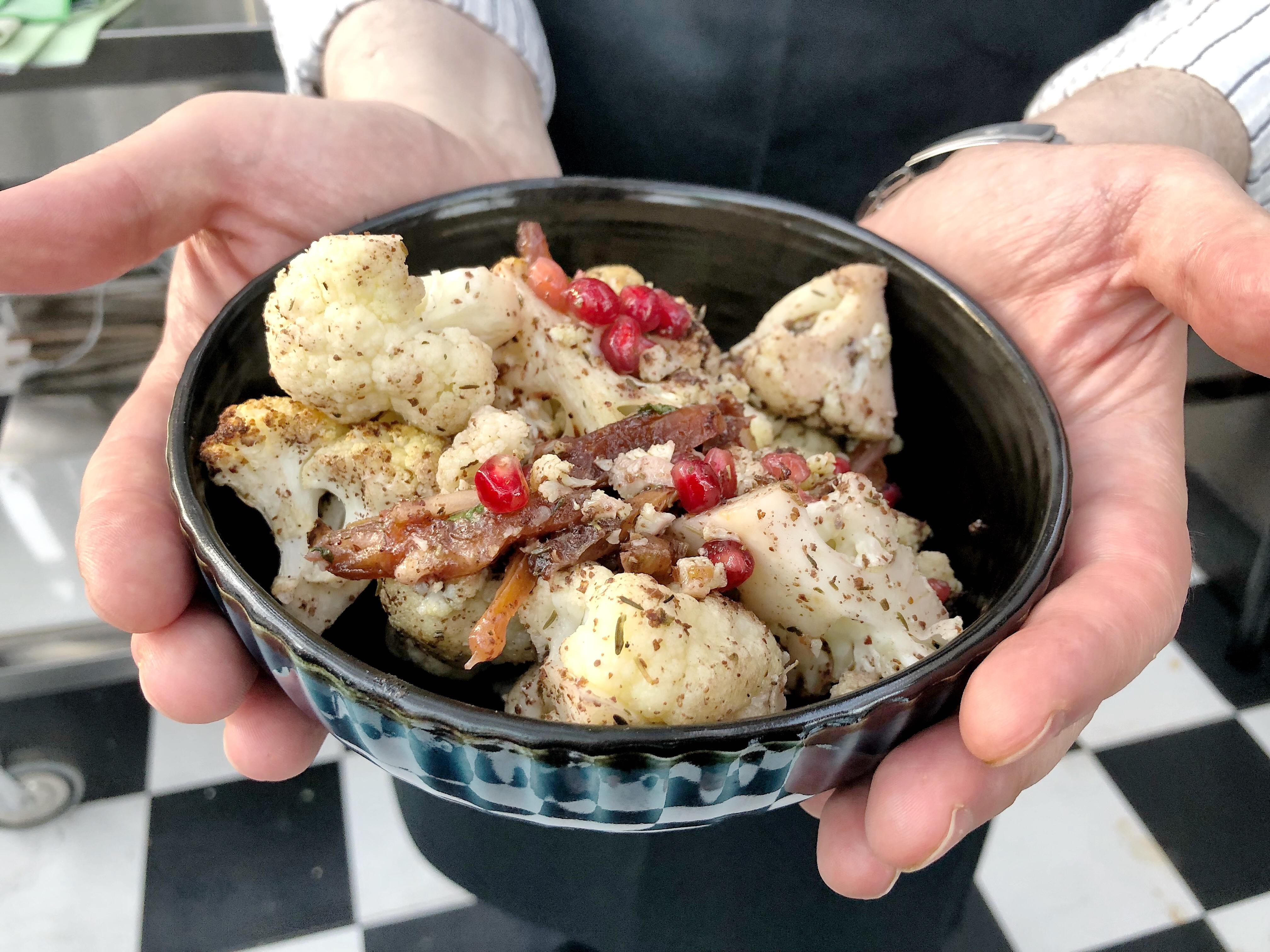 Blumenkohl Za'atar Rezept Orientalisch Mezze
