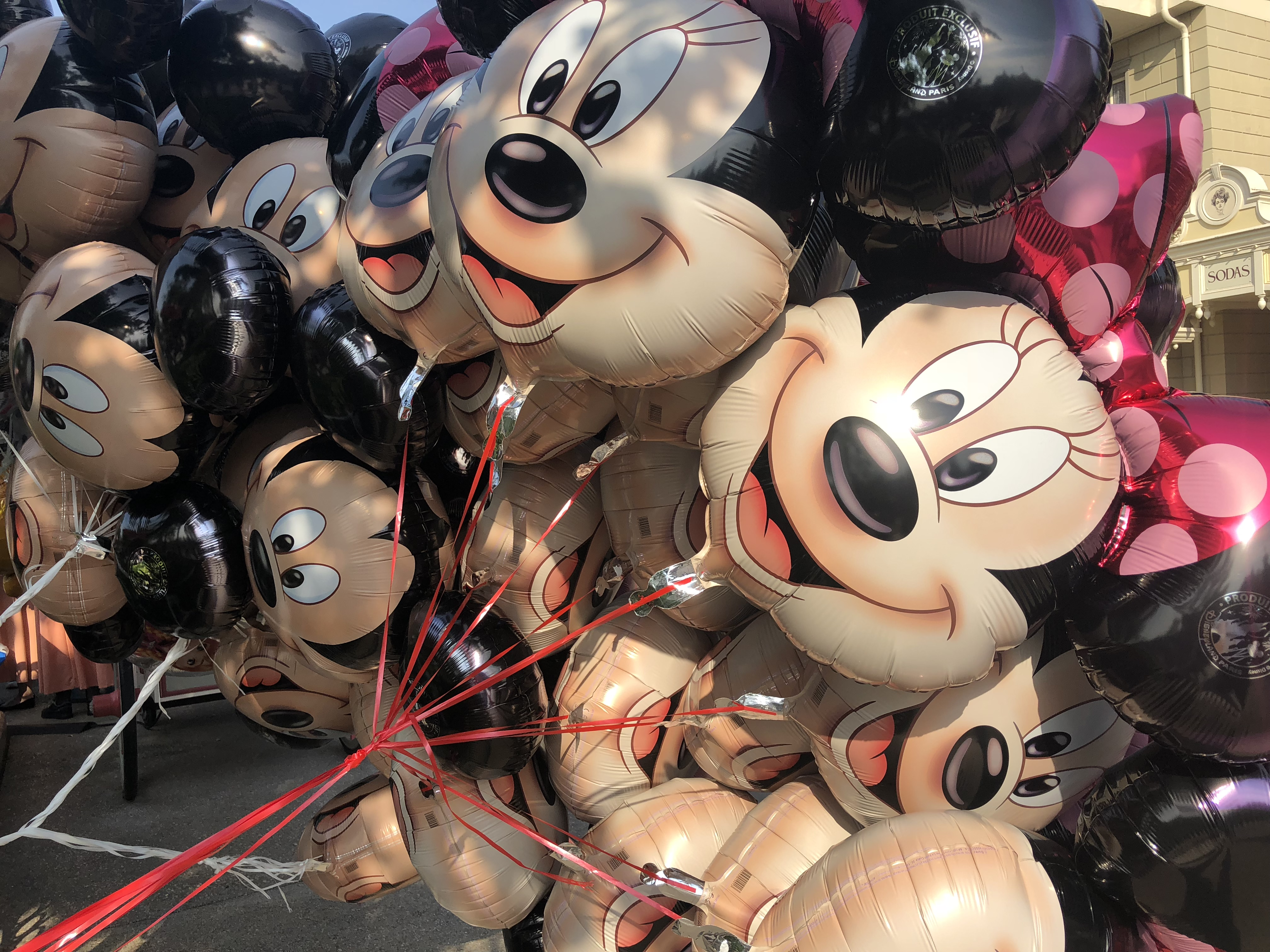 Minnie Maus Ballon