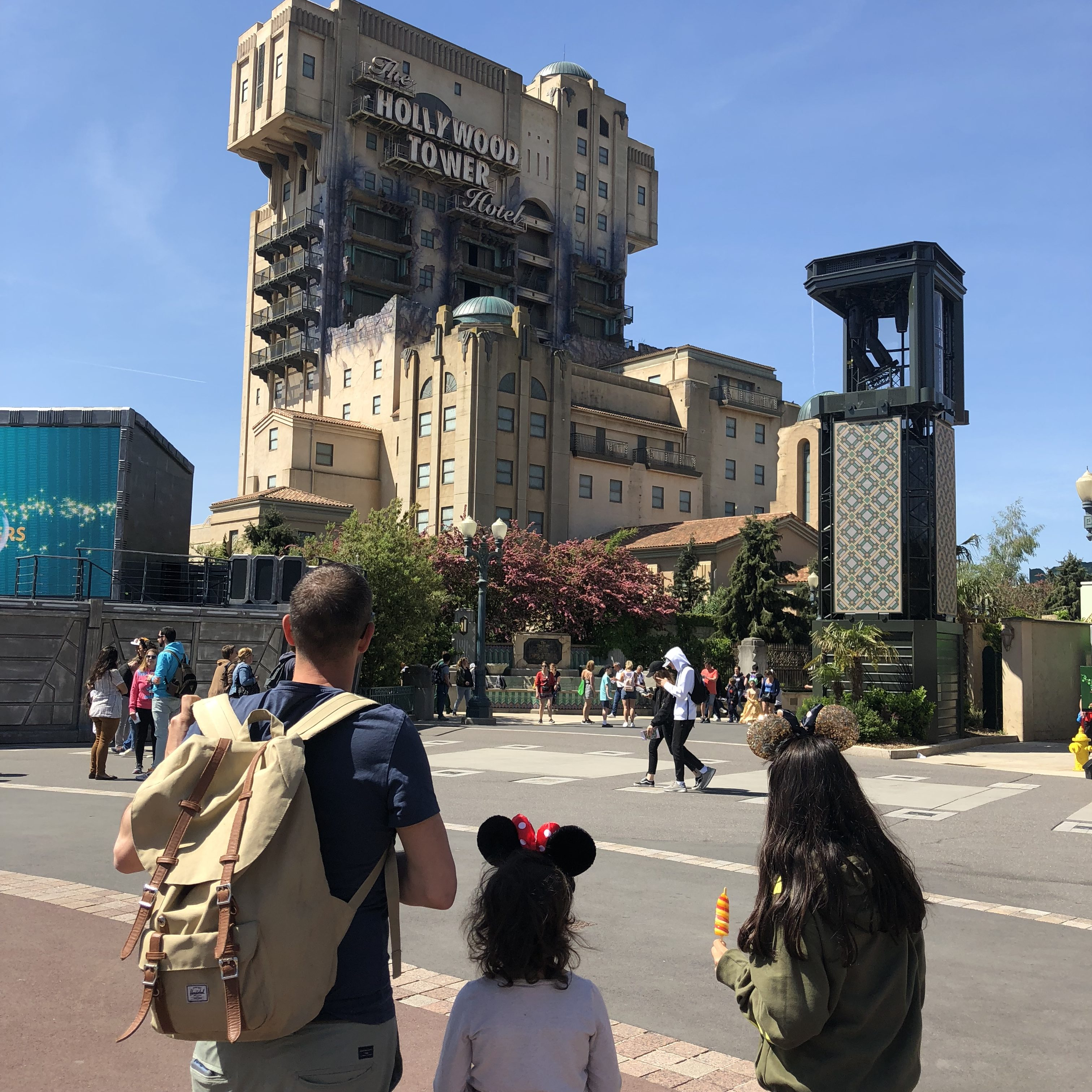 Walt Disney Studios Paris Twilight Zone Tower