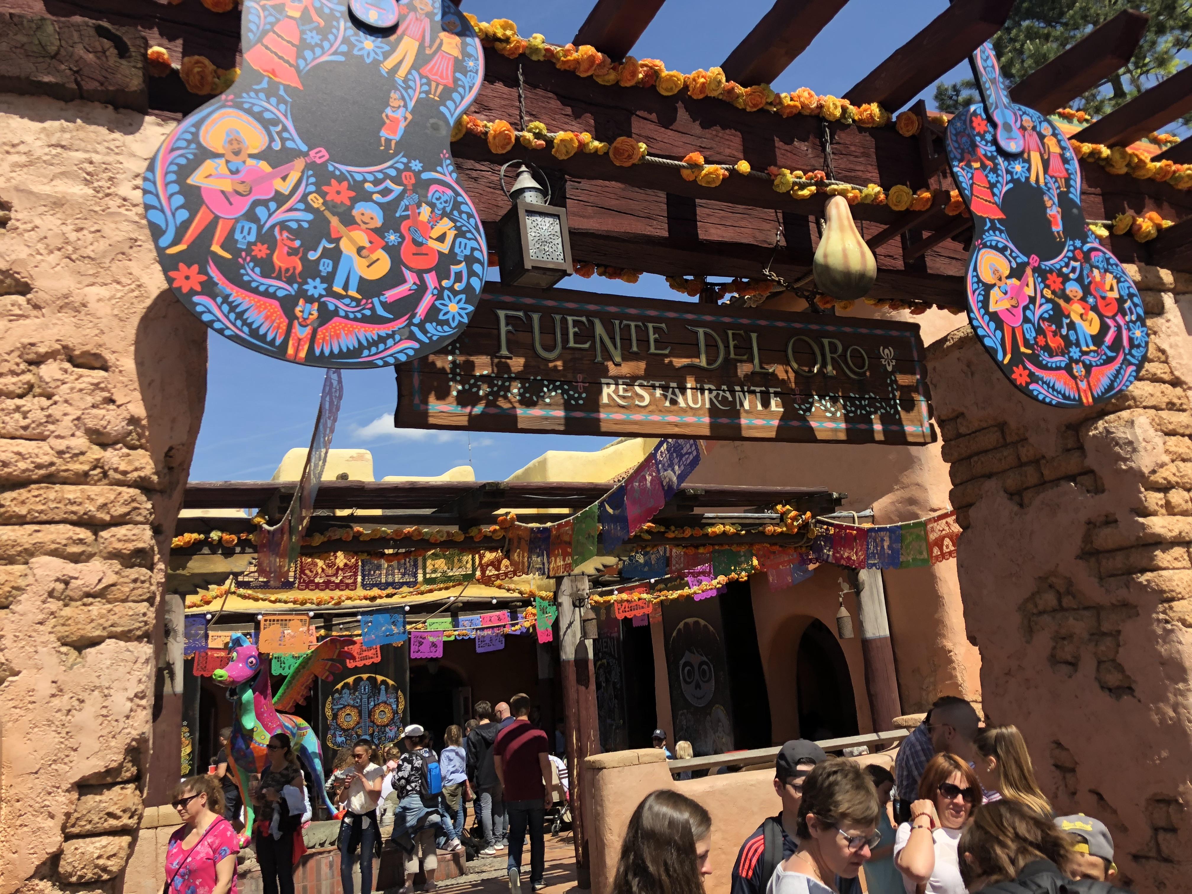 Disneyland Paris Frontierland Coco