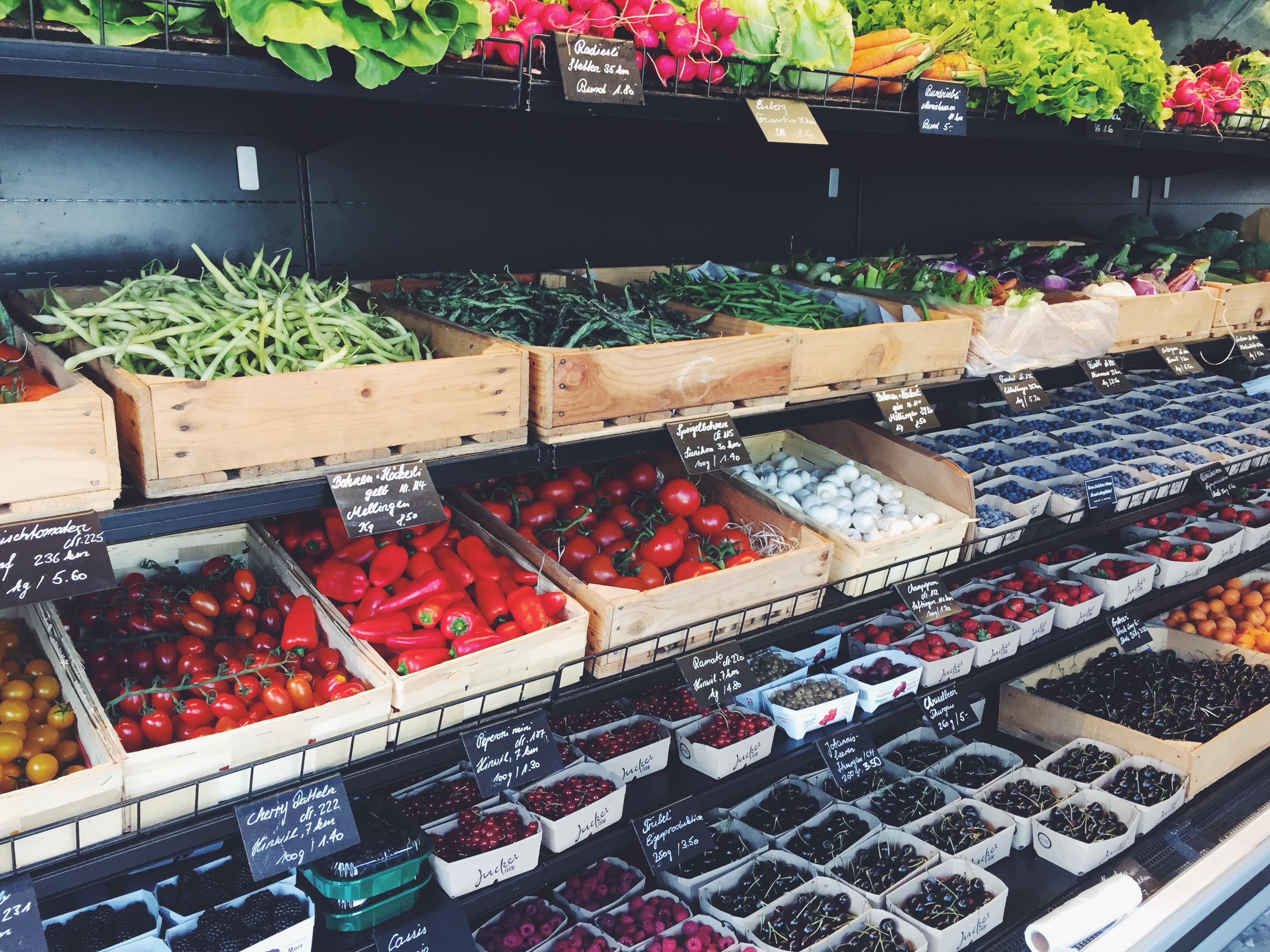 Früchte und Gemüse Markt