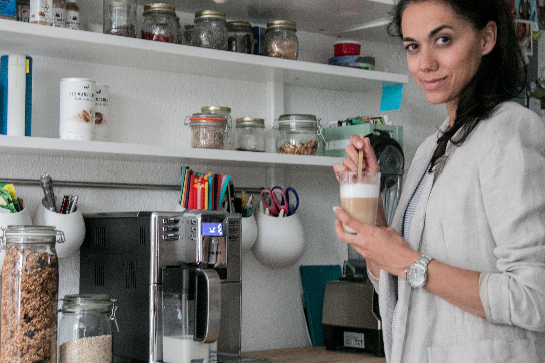 Kaffeemaschine in der Küche