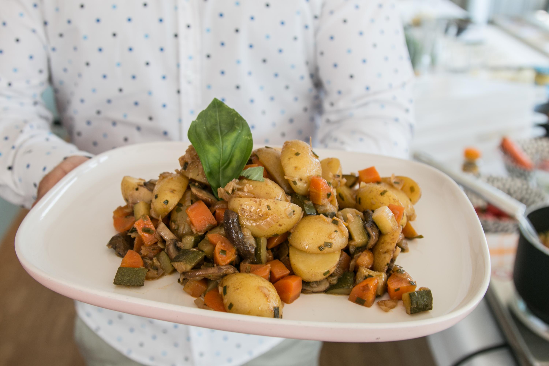 Gemüseeintopf mit Kreuzkümmel