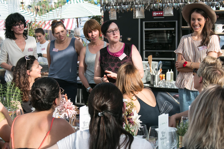Weinfrauen an der Food Zurich