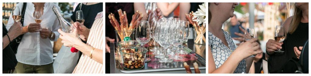 Weinfrauen am Food Zurich Festival