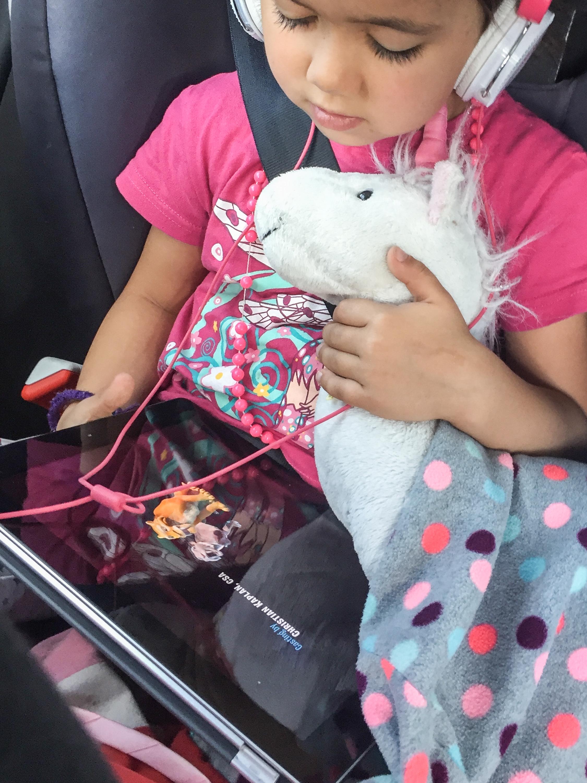 Tablet im Auto