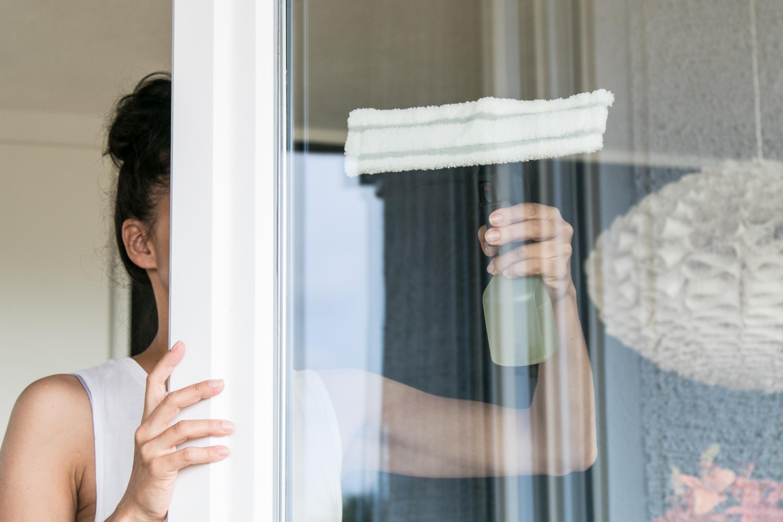 Haushalt Fensterreinigung Fenster putzen Kärcher