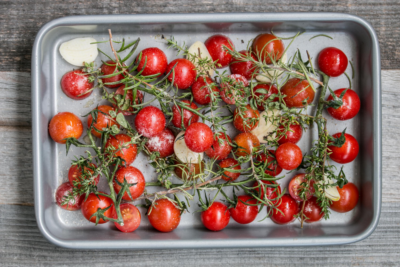 Cherrytomaten aus dem Ofen
