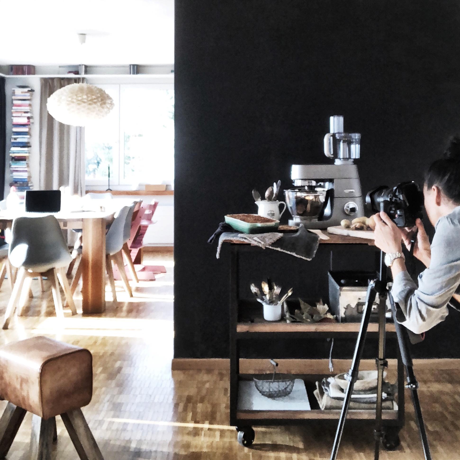 Foodblog Behind the scenes