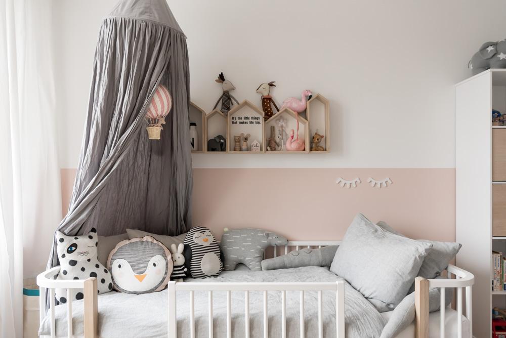 Betthimmel fürs Kinderzimmer