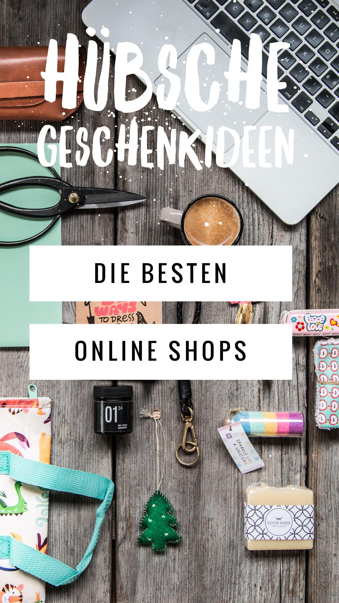 Die besten Online Shops Geschenkideen