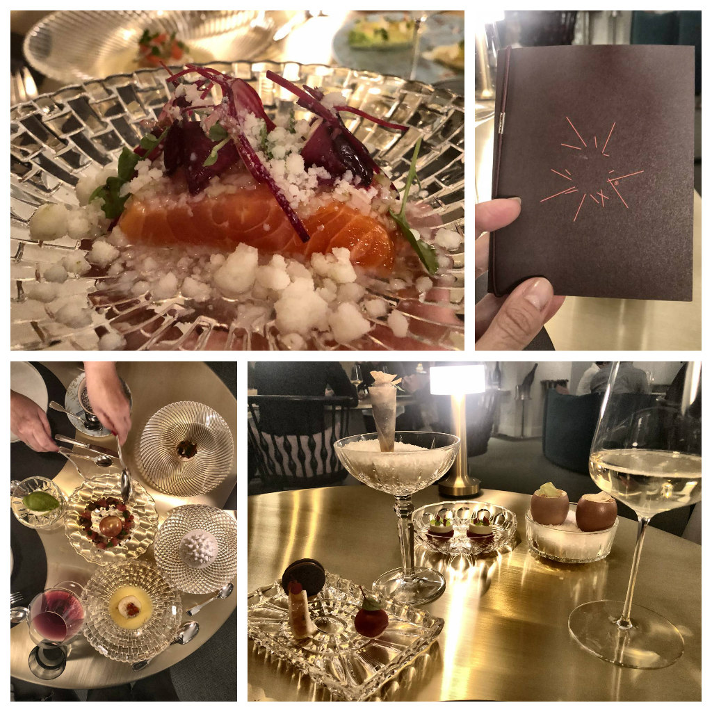 Dinner im Restaurant Igniv Bad Ragaz Resort