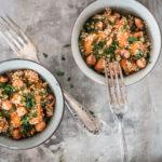 Süsskartoffel Quinoa Bowl Rezept