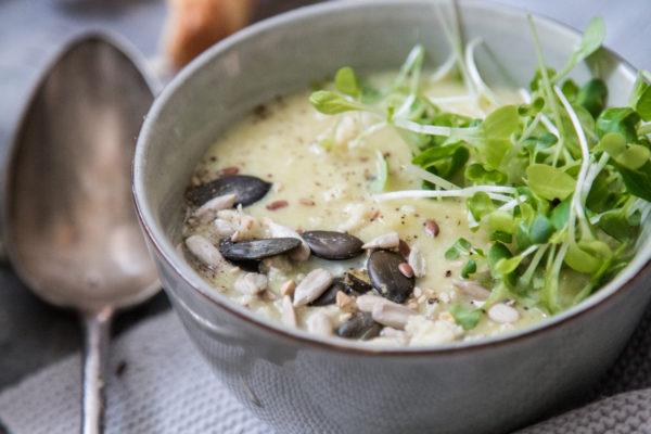 Lauchcreme Suppe Rezept