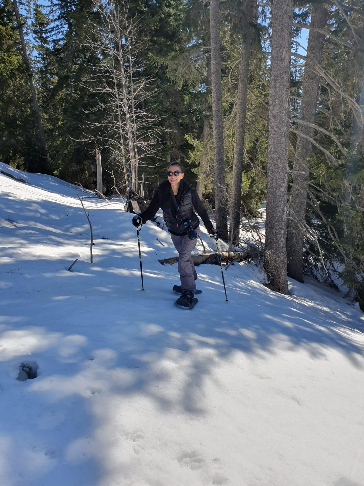 Schneeschuhwandern Crans-Montana