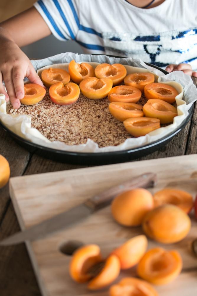 Aprikosenwähe Rezept