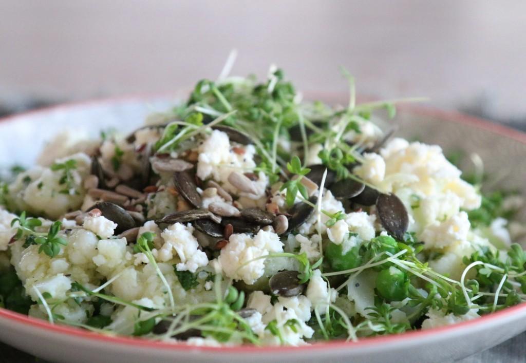 Blumenkohl mit Quinoa und Cashews Rezept
