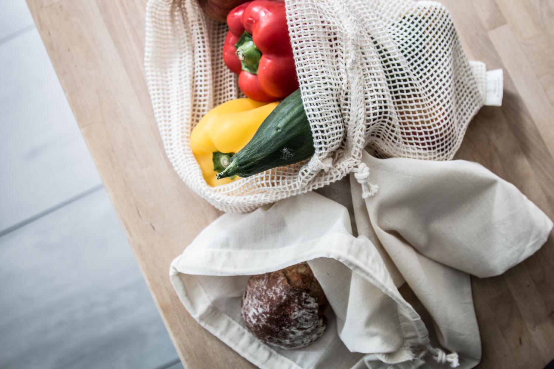 Stoffbeutel für Gemüse