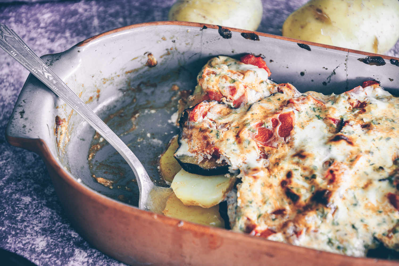Moussaka vegetarisch Rezept