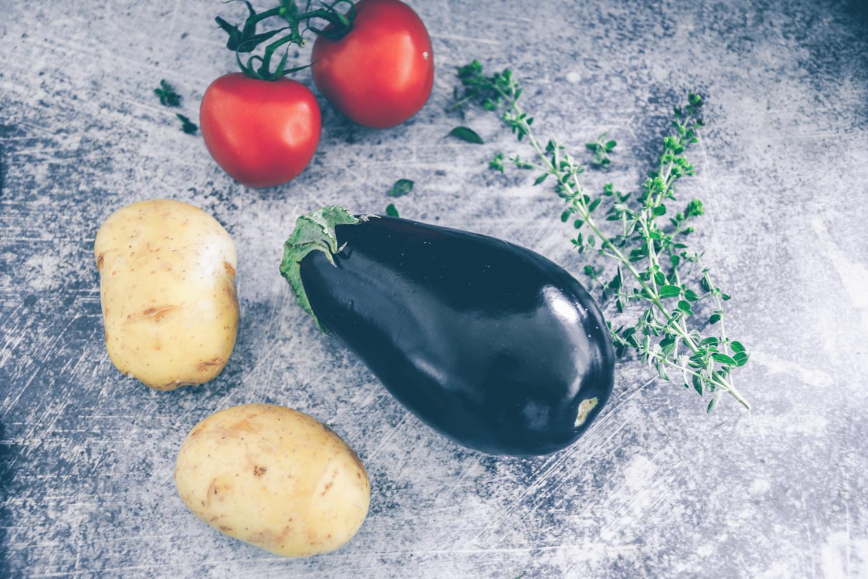 Tomaten Auberginen Kartoffeln Rezept