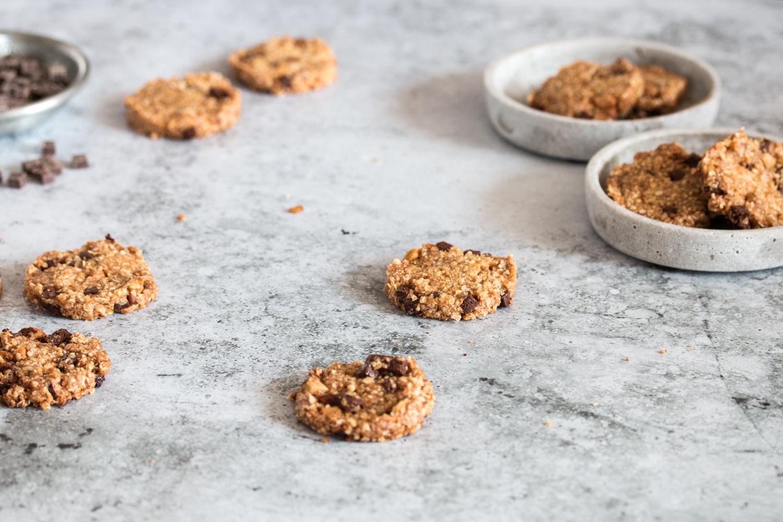 Cookies mit Hirse und Quinoa Rezept