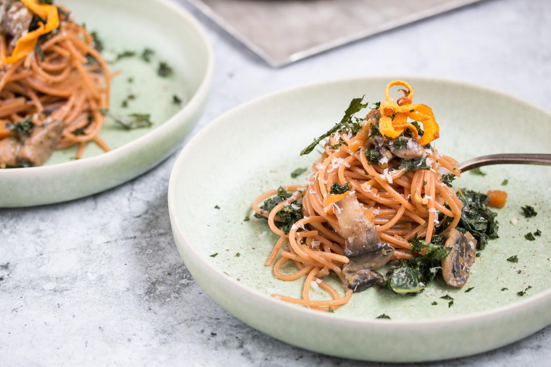 Spaghetti aus Linsen glutenfrei