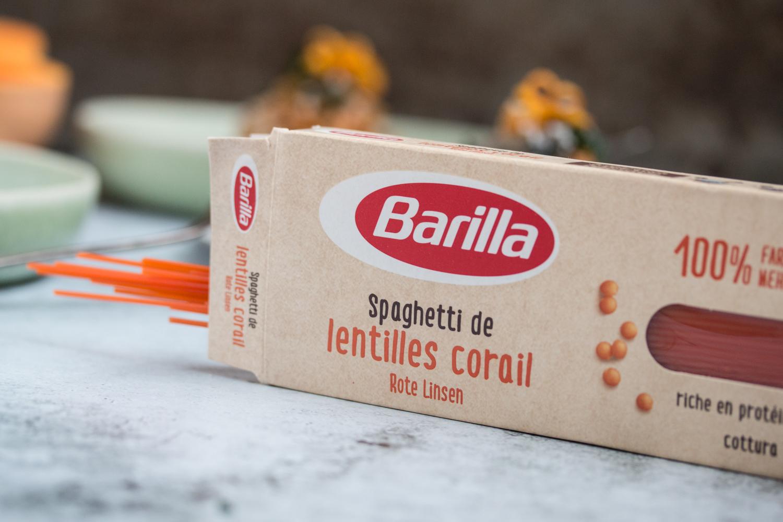 Barilla Spaghetti aus roten Linsen