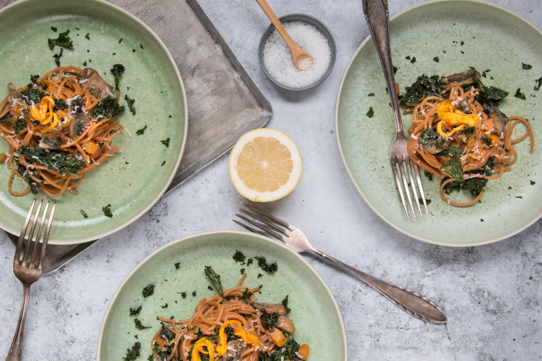 Spaghetti Rezept Herbst