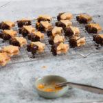 Mailänderli mit Orangen und Schokolade Rezept