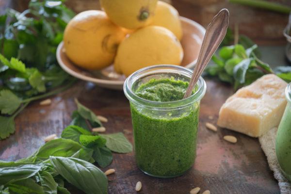 Kräuter Pesto Rezept