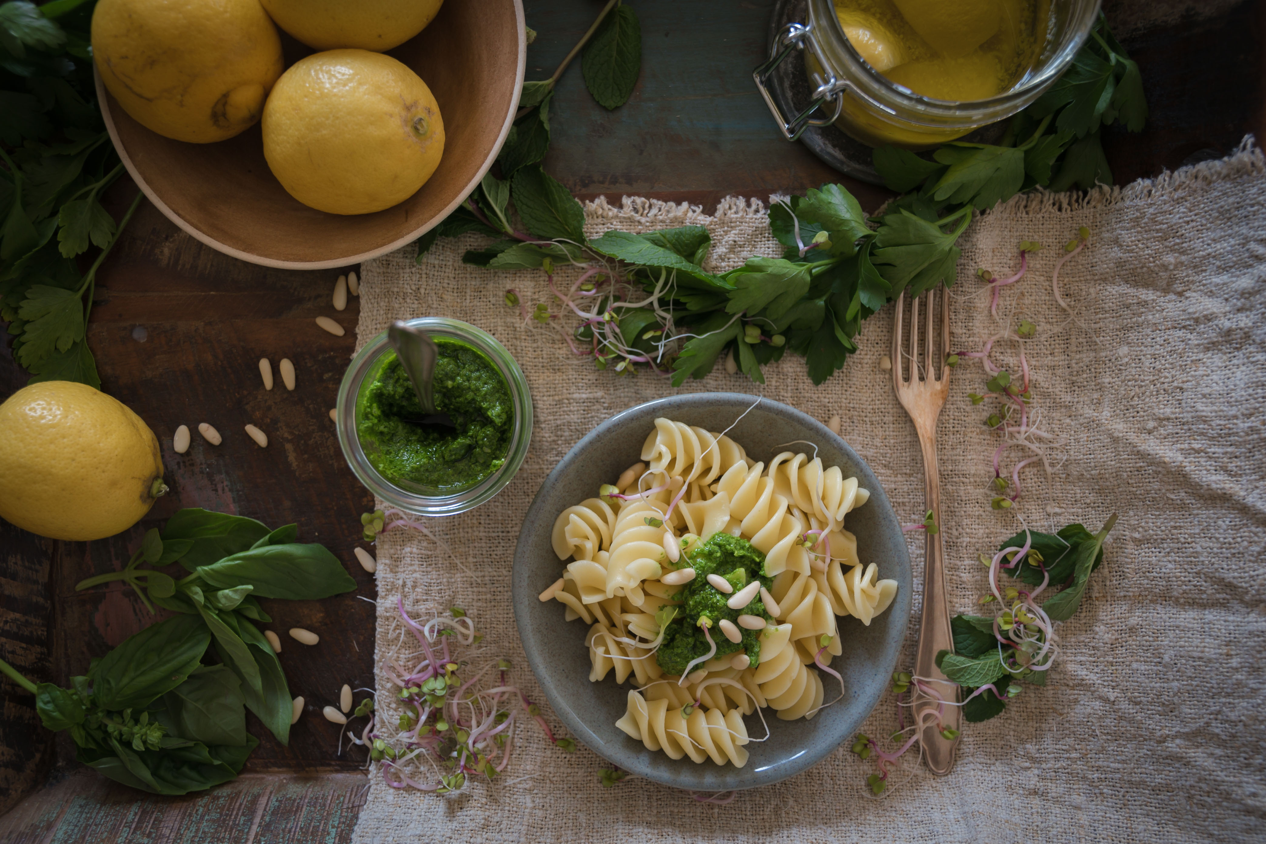 Pesto Rezept