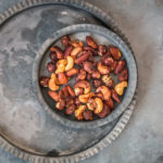 Geröstete Nüsse