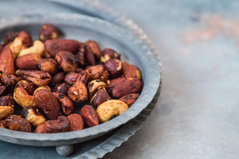 Geröstete Nüsse Rezept