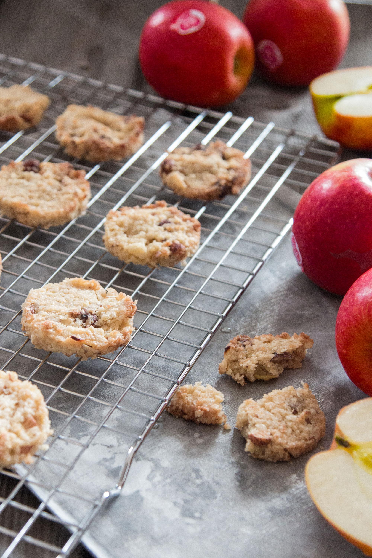 Cookies mit Hirse und Apfel Rezept