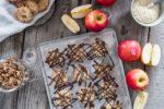 Hirsecookies mit Apfel