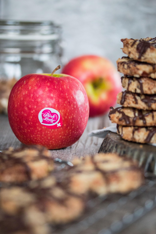 Kekse mit Apfel und Hirse Rezept